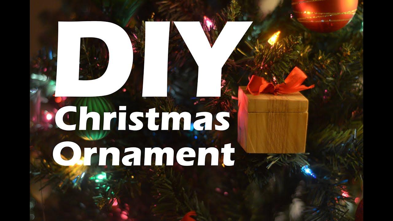 diy wooden christmas ornament and ring box christmas woodproject youtube - Christmas Ornament Ring Box