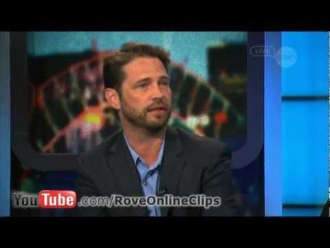 Jason Priestley interview on The Project - Call Me Fitz (2012)