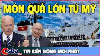 Món Quà Lớn Mỹ Tặng Việt Nam Sắp Cập Cảng CAM RANH, Trung Cộng Như Ngồi Trên Đống Lửa