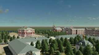 Старая Пермь. Главная площадь. Конец XIX века