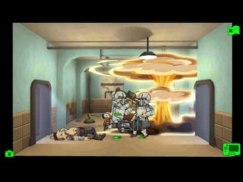 Fallout Shelter Synths Rescue An Animal