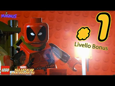 LEGO Marvel Super Heroes Gameplay ITA #1 - Al Daily Bugle - Livello Bonus Deadpool