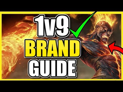 HOW TO BRAND SUPPORT 1V9 FOR BEGINNERS (SEASON 10)! | League of Legends