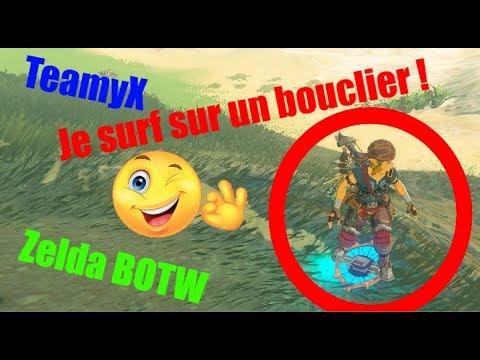 Surfer bouclier zelda
