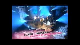 """Clueso & Jan Plewka - """"Halt dich an deiner Liebe fest"""" (1LIVE-Krone 2011)"""