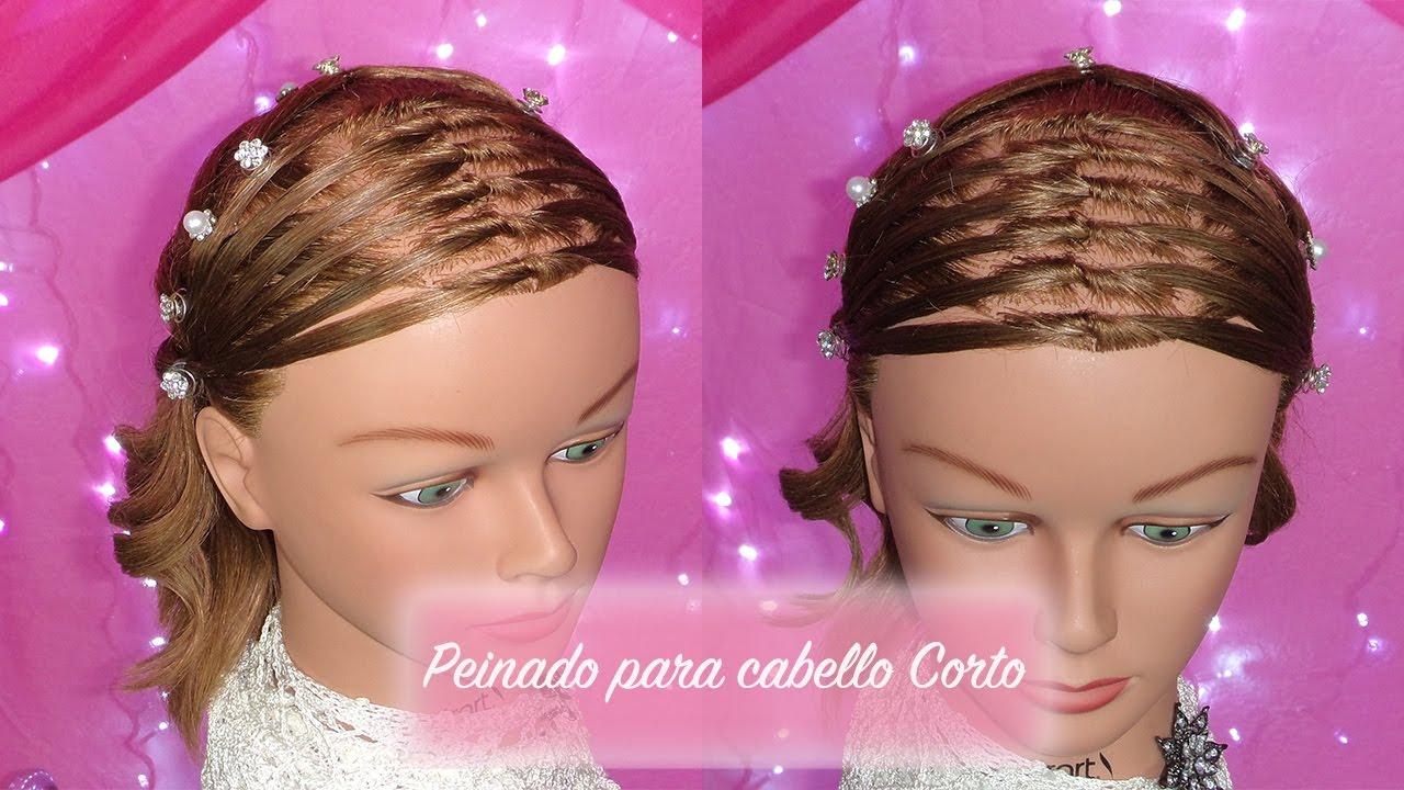 Peinados para primera comunion para cabello corto