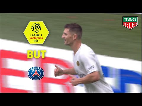 But Thomas MEUNIER (61′) / Stade Rennais FC – Paris Saint-Germain (1-3)  (SRFC-PARIS) / 2018-19