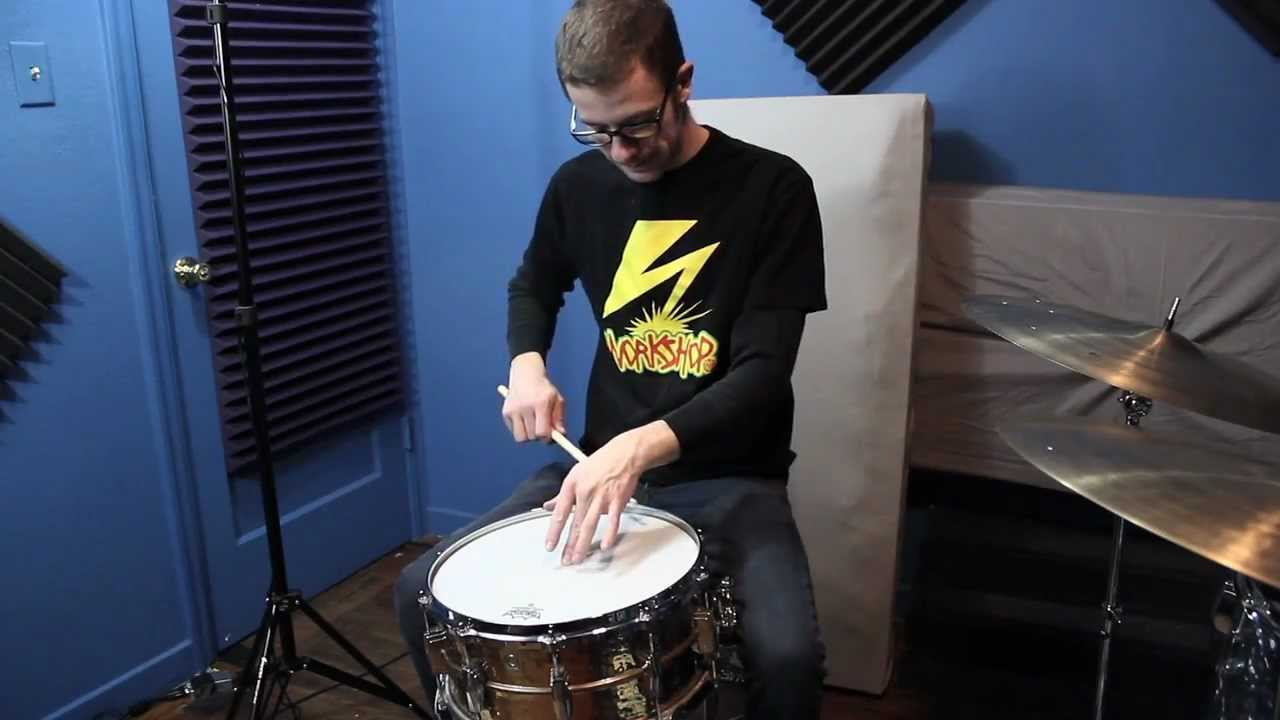 how to tune drums and replace drum heads youtube. Black Bedroom Furniture Sets. Home Design Ideas