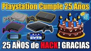 Playstation Cumple 25 años - 25 años de HACK - GRACIAS PS