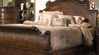 Torricella King Sleigh Bed C7088-53-54-58 By Fairmont Designs