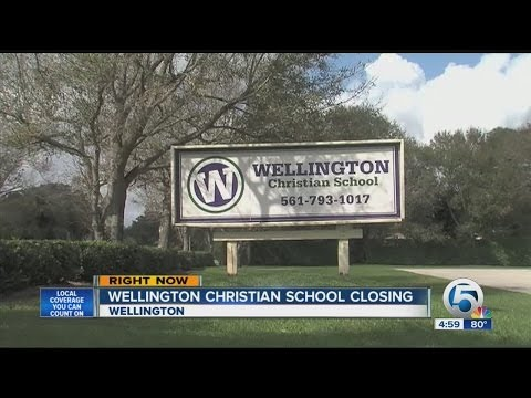 Wellington Christian School closing