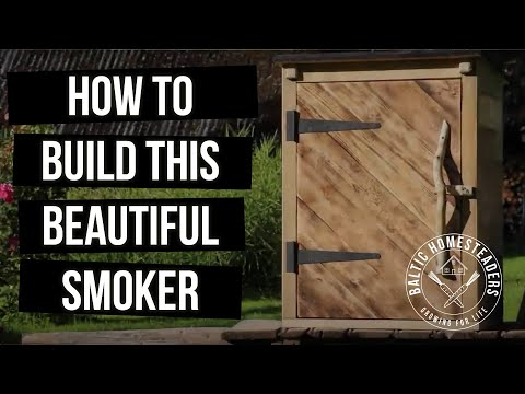 Hot & Cold Smoker Build - How To
