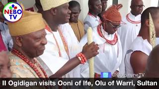 Oba Ewuare Visits Ooni of Ife, Olu of Warri, Sultan of Sokoto, the Analysis & Grand Receptions