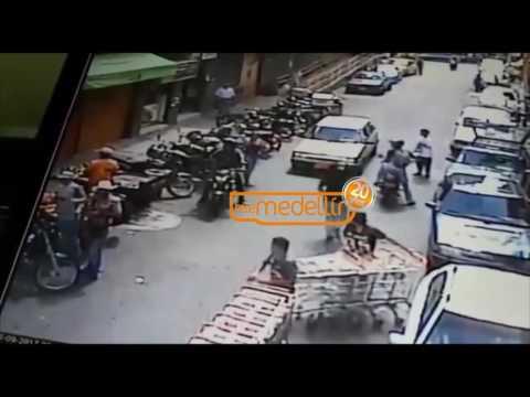 Vigilante frustró robo de caja fuerte en la Placita de Flórez [Noticias] - Telemedellín