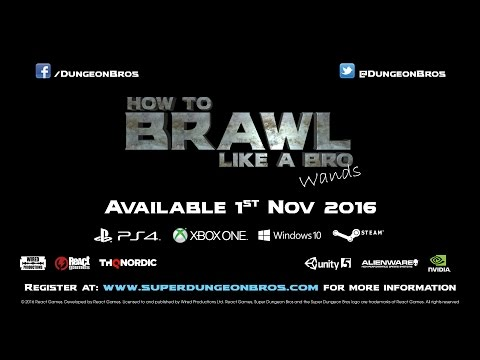 How to Brawl Like A Bro - Wands (ESRB)