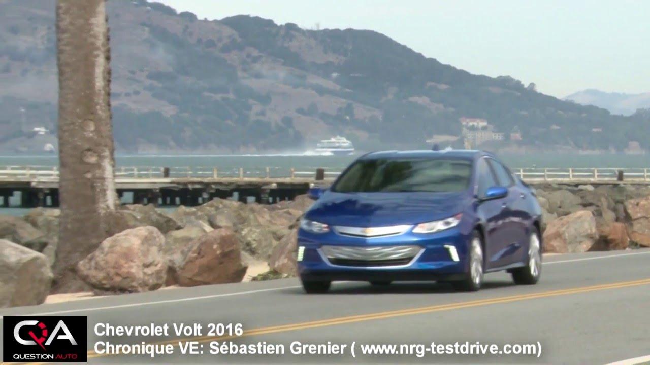 véhicule Électrique - mars : chevrolet volt 2016 et 2017! - youtube
