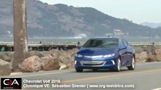 Véhicule Électrique - Mars : Chevrolet Volt 2016 et 2017!