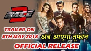 Salman's Race 3 Trailer To Reach Its Fans On 5th May - Watch
