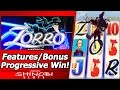 Zorro Slot - TBT Live Play, Bonus Features and Major Progressive Win!