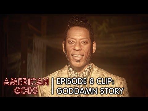 Goddamn Story   American Gods Episode 8 Clip: Come To Jesus