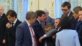 Під час промови Лукашенка голова ДПС України втратив свідомість