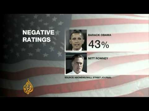 Millions spent on negative ads in US presidential campaign