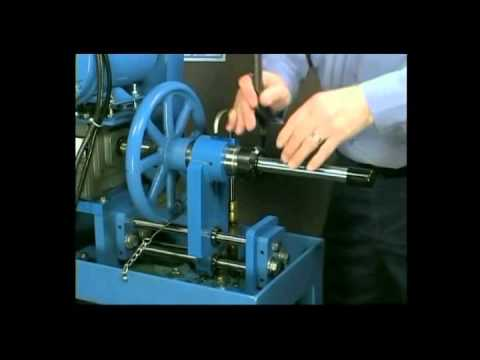 coning threading machine