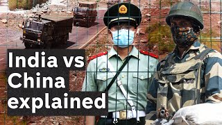 The India vs Chİna border conflict explained