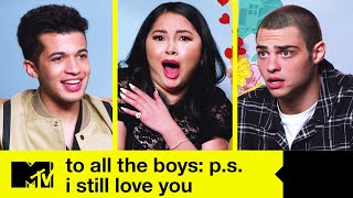 'To All the Boys: P.S. I Still Love You' Cast Talk Kissing & Play Snog, Marry, Avoid | MTV Movies