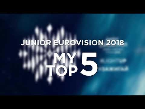Junior Eurovision 2018 🇧🇾 | My Top 5!