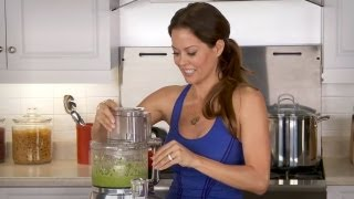 How To Make Zucchini Salsa Verde With Brooke Burke - Let's Cook With Modernmom
