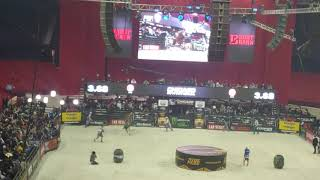 PBR:professional bull riders Allstate Arena Chad berg