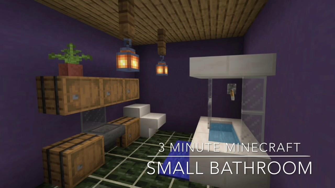 Minecraft Small Bathroom Ideas Home Architec Ideas