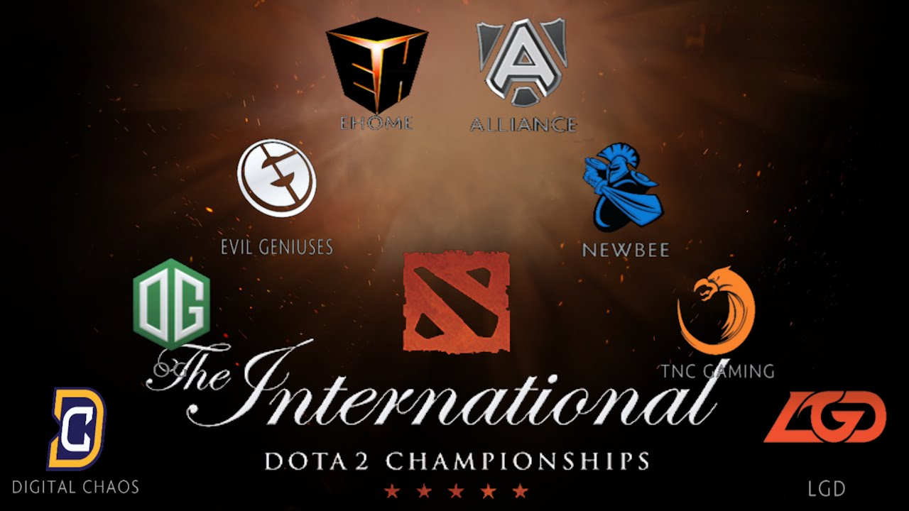 dota 2 day 2 ti6 results with character picks youtube