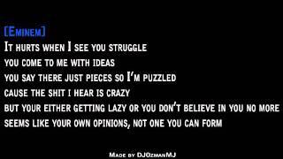 Dr. Dre - I Need A Doctor Feat. Eminem, Skylar Grey Karaoke
