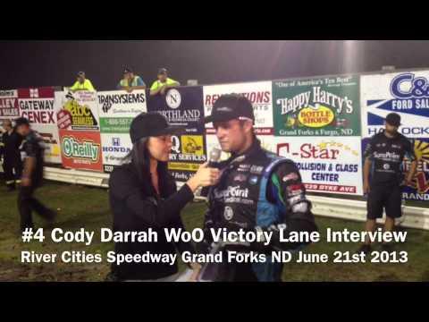 Cody Darrah Victory Lane Interview