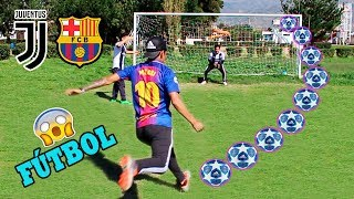 JUVENTUS vs BARCELONA ¡Epic Retos de Futbol! ⚽️