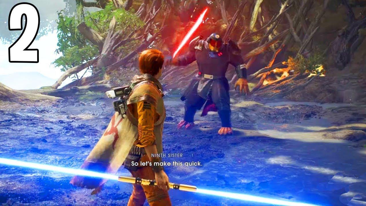 Star Wars Jedi Fallen Order - Partida Completa 2 - NONO CHEFE DE IRMÃ! (JOGO COMPLETO) + vídeo