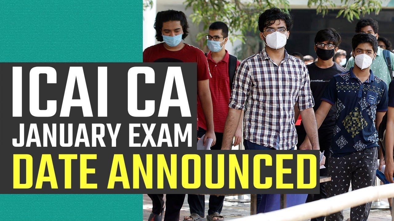 ICAI CA Exam Date 2020: ICAI CA exam date released- Watch Video