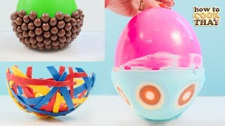 How to make INCREDIBLE chocolate balloon bowls