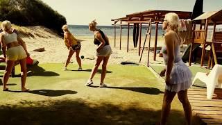Открытые уроки Сальса в виндсерфинг школе на пляже