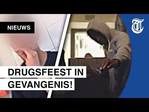 Schokkende video gelekt: Drugsfeest in gevangenis Zaanstad