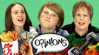 NEW YEAR'S RESOLUTION (REACT: Opinions #6)