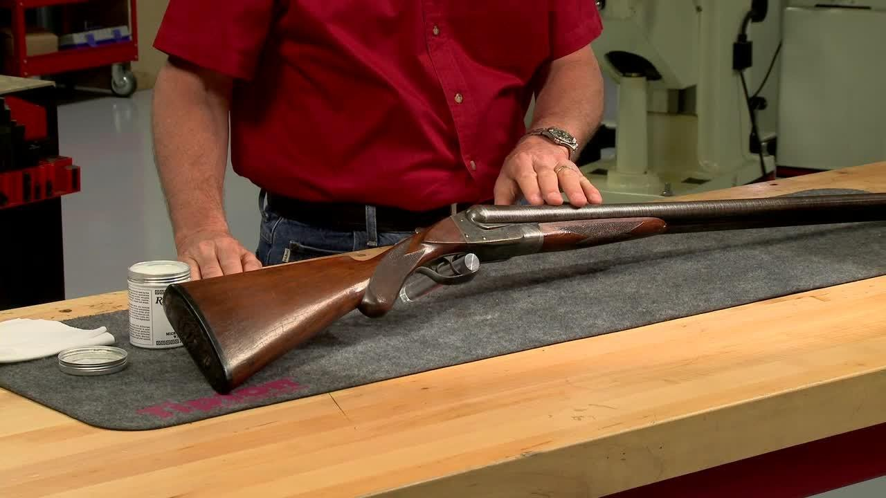 Gunsmithing How Use Wax Protect Your Firearms Presented Larry Potterfield