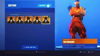 The *NEW* STAGE 5 PRISONER Skin in Fortnite... (STAGE 5 PRISONER SKIN)