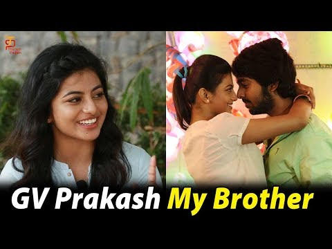 Anandhi about GV Prakash   Mannar Vagera Interview   Anandhi reveals her dream man   Thamizh Padam