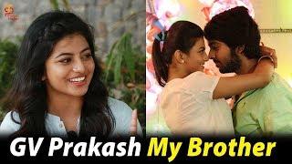 Anandhi about GV Prakash | Mannar Vagera Interview | Anandhi reveals her dream man | Thamizh Padam