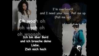 Justin Bieber ft. Jessica Jarrell ~ Overboard [Lyrics + Deutsche Übersetzung]