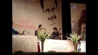 Pandit Ajoy Chakraborty Performing at Dr. Kashinath Ghanekar Natyagruha, Thane