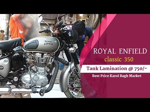 Royal Enfiled Tank Coating Karol bagh